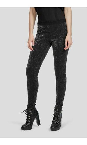 Sportalm Эластичные брюки с люрексом на резинке