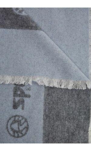 Sportalm Двуххцветный шарф светло-серый