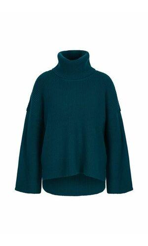 Sportalm Изумрудный объемный свитер