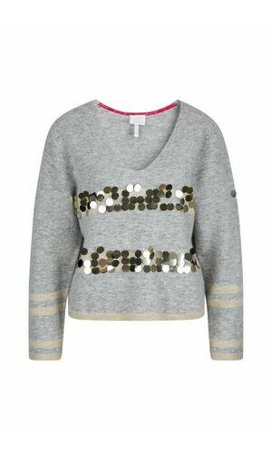 Sportalm Вязаный свитер с пайетками