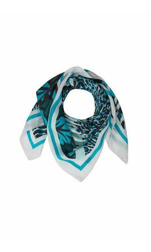 Sportalm Квадратный шелковый шарф с принтом
