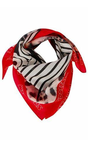 Sportalm Шелковый шарф с надписями