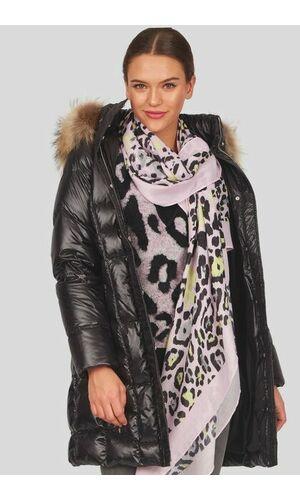Sportalm Шелковый шарф с леопардовым принтом