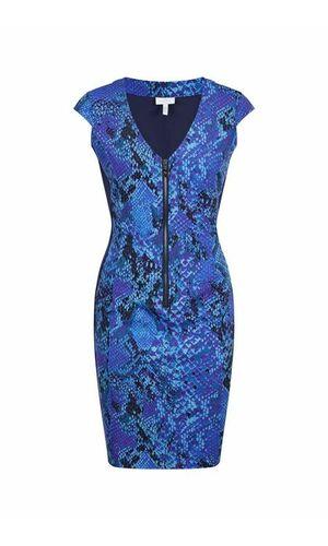 Sportalm Женское платье со змеиным принтом