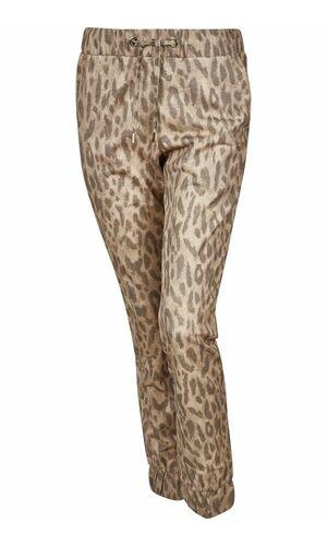 Sportalm Брюки с леопардовым принтом