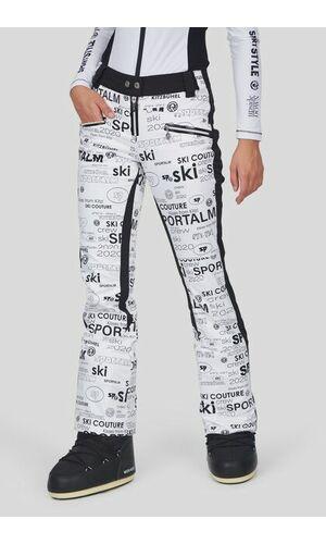 Sportalm Горнолыжные брюки с буквенным принтом