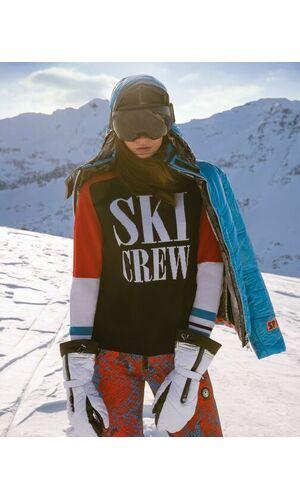 Sportalm Лыжный пуловер в ретро стиле