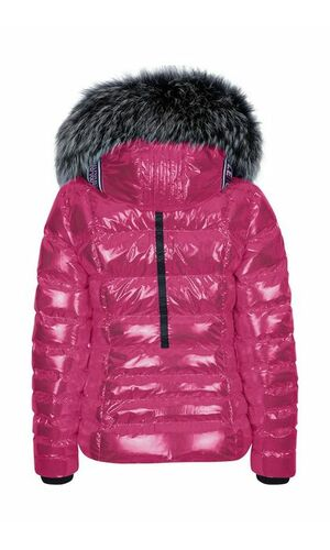 Sportalm Лыжная куртка из нейлона с металлик эффектом