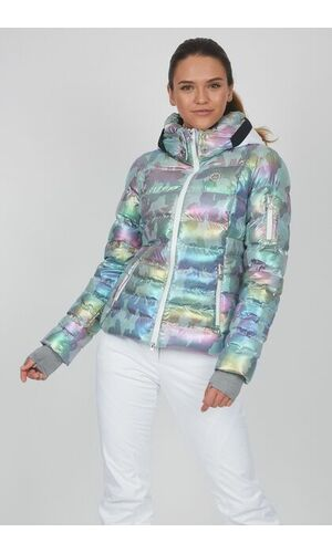 Sportalm Горнолыжная куртка с камуфляжным принтом