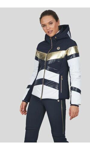 Sportalm Горнолыжная куртка с контрастными полосками