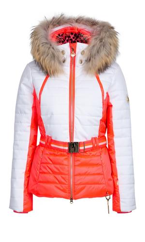 Sportalm Двухцветная куртка с мехом