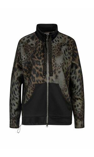 Sportalm Лёгкая куртка с леопардовым принтом