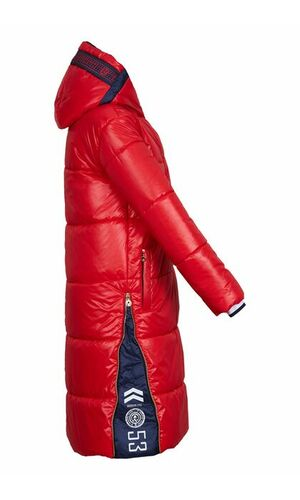 Sportalm Красная длинная куртка