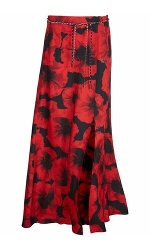 Sportalm Макси-юбка с цветочными узорами