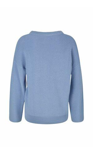 Sportalm Женский пуловер с контрастными рукавами