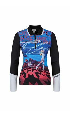 Sportalm Рубашка-поло с длинными рукавами