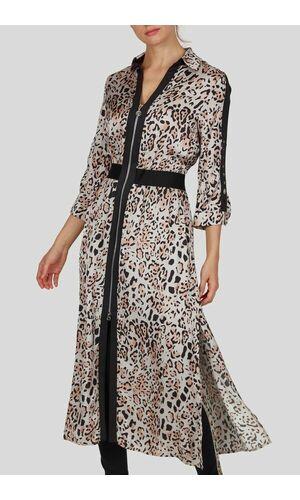 Sportalm Платье-блузка с леопардовым принтом