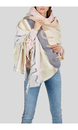 Sportalm Уютный вязаный шарф с бахромой