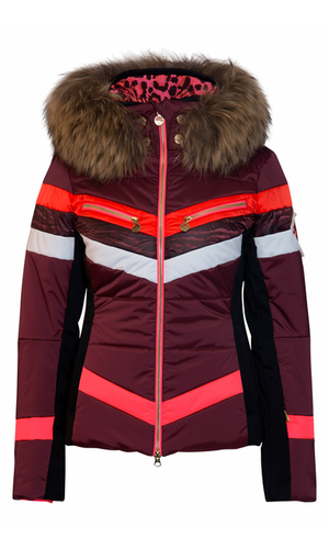 Sportalm Куртка с полосками и мехом
