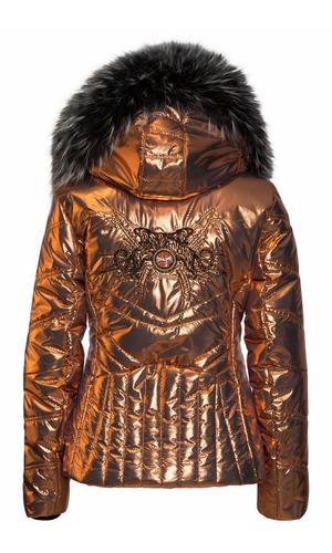 Sportalm Нейлоновая куртка цвета металлик