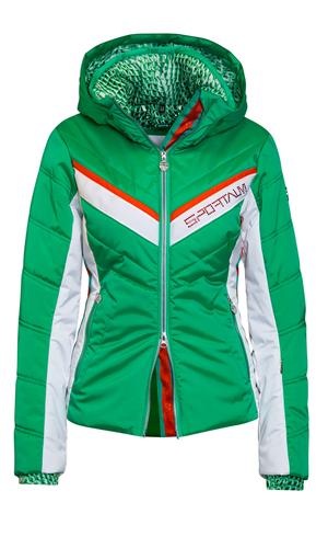 Sportalm Куртка с полосами и анималистичным принтом