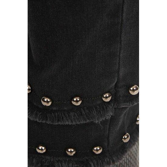 Sportalm Выбеленные джинсы скини с бахромой