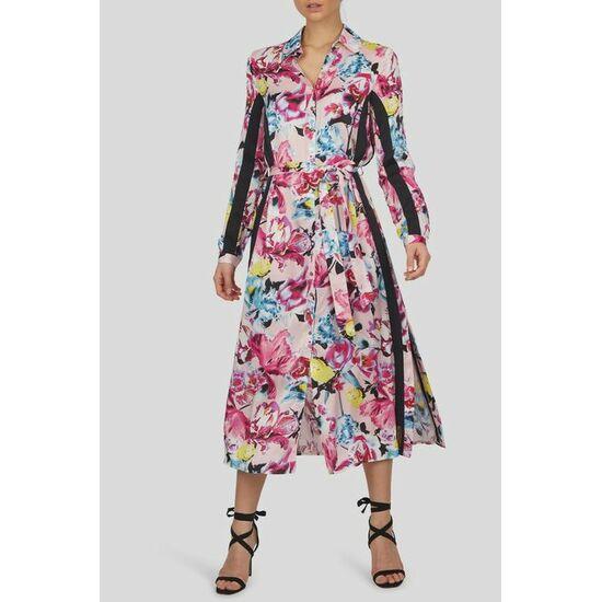 Sportalm Платье миди на пуговицах с цветочным принтом