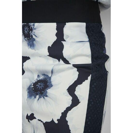 Sportalm Облегающая юбка с цветочными узорами